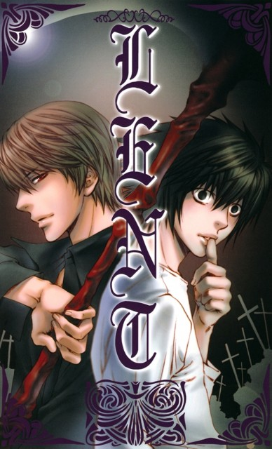 Nekota Yonezou, Death Note, Gashuu, Light Yagami, L