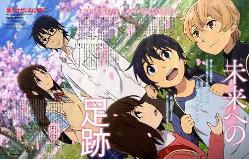 Kei Sanbe, A-1 Pictures, Boku dake ga Inai Machi, Kenya Kobayashi, Satoru Fujinuma