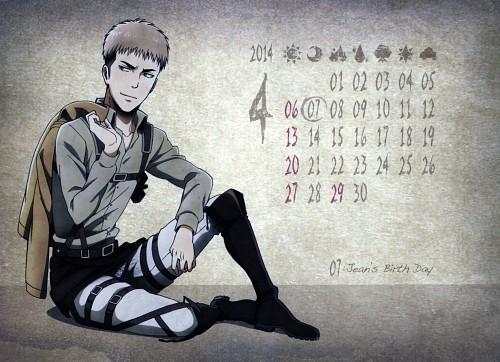 Hajime Isayama, Production I.G, Shingeki no Kyojin, Shingeki no Kyojin School Calendar 2014, Jean Kirschstein