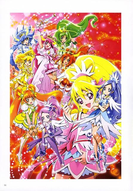 Futago Kamikita, DokiDoki! Precure, Smile Precure!, Futago Kamikita All Precure Illustration Collection, Cure March