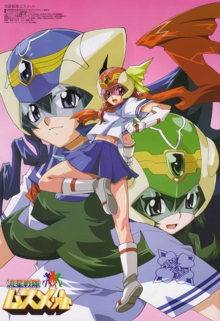 Pony Canyon, Ryuusei Sentai Musumet, Midori Mishina, Aoi Mishina, Kurenai Mishina