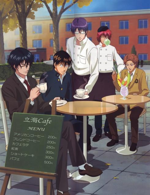 Takeshi Konomi, J.C. Staff, Prince of Tennis, Jirou Akutagawa, Kaoru Kaidoh