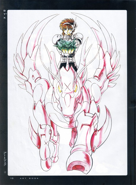 Masami Kurumada, TMS Entertainment, B't X, Fight - Artbook IV, Teppei Takamiya