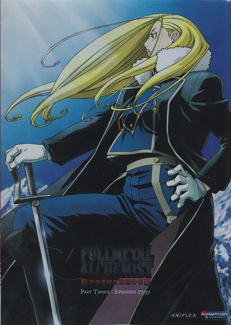 BONES, Fullmetal Alchemist, Olivier Mira Armstrong, DVD Cover