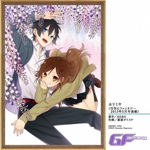 Daisuke Hagiwara, Horimiya, Kyouko Hori, Izumi Miyamura, Official Digital Art
