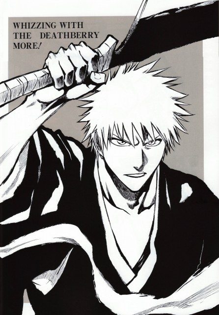 Kubo Tite, Bleach, All Colour But The Black, Ichigo Kurosaki