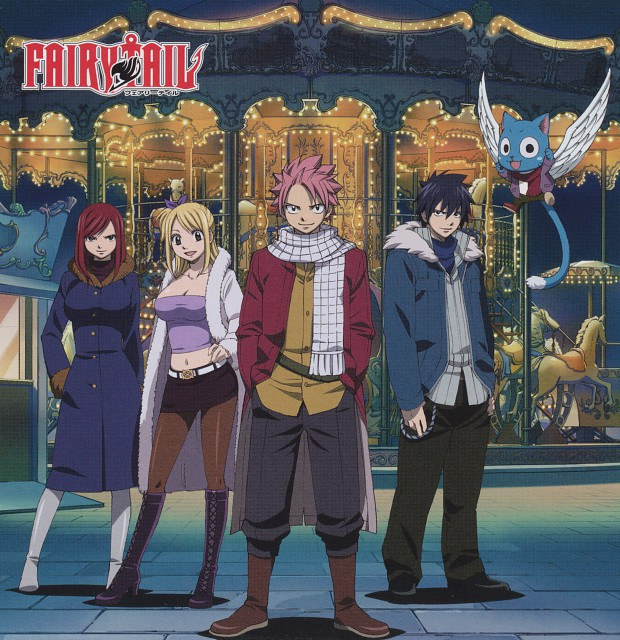 Hiro Mashima, Satelight, Fairy Tail, Gray Fullbuster, Happy (Fairy Tail)