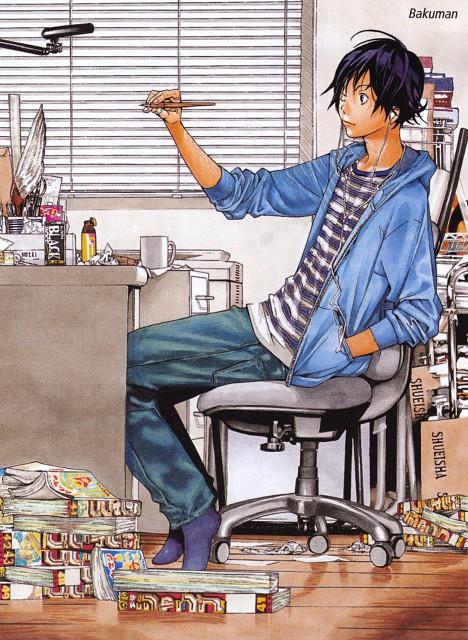 Takeshi Obata, Bakuman, Moritaka Mashiro