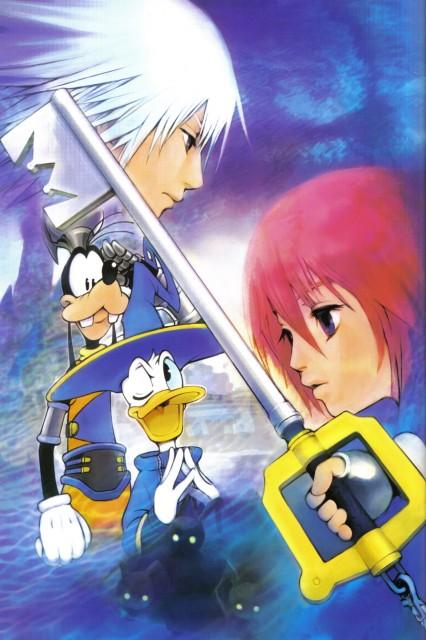 Shiro Amano, Art Works Kingdom Hearts, Kingdom Hearts, Kairi, Riku