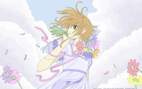 CLAMP, Bee Train, Tsubasa Reservoir Chronicle, Sakura Kinomoto, Vector Art Wallpaper