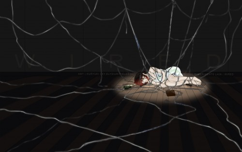 Serial Experiments Lain, Lain Iwakura Wallpaper