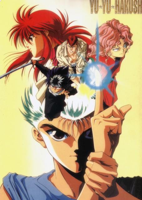 Studio Pierrot, Yuu Yuu Hakusho, Genkai, Kazuma Kuwabara, Hiei