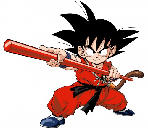 Akira Toriyama, Toei Animation, Dragon Ball, Kid Goku, Vector Art
