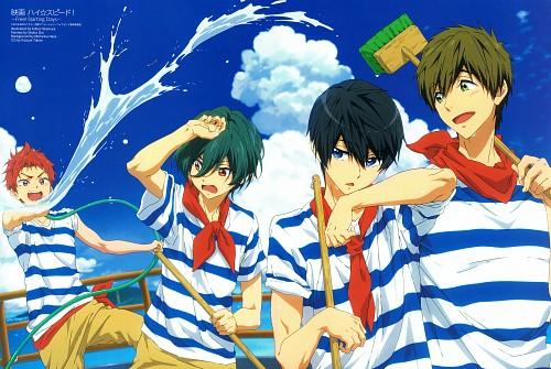Kouhei Okamura, Kyoto Animation, Free!, Haruka Nanase (Free!), Ikuya Kirishima