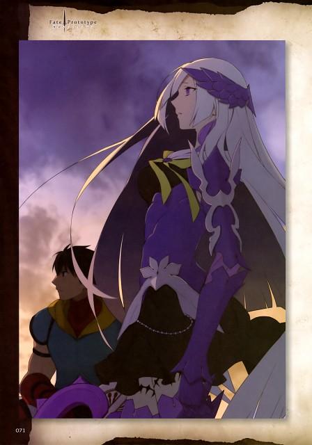 Nakahara, TYPE-MOON, Fate/Prototype, Brynhild, Archer (Aoi Gin no Fragments)