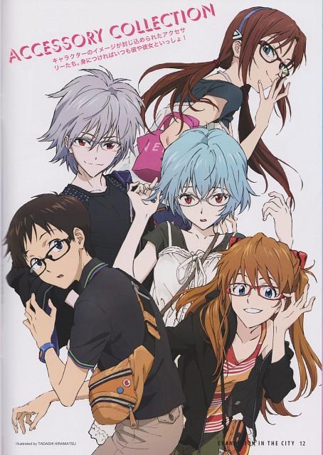 Tadashi Hiramatsu, Gainax, Khara, Neon Genesis Evangelion, Rei Ayanami