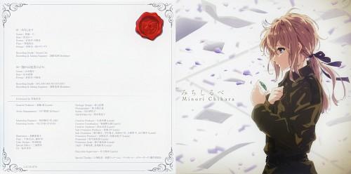 Akiko Takase, Kyoto Animation, Violet Evergarden, Violet Evergarden (Character), Album Cover