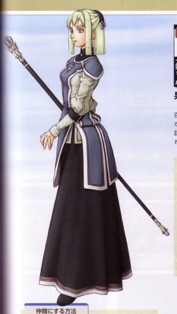 Fumi Ishikawa, Konami, Suikoden III, Sarah (Suikoden III)