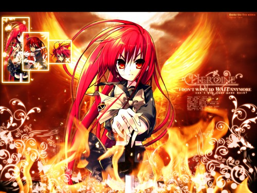 Noizi Ito, J.C. Staff, Shakugan no Shana, Shana Wallpaper