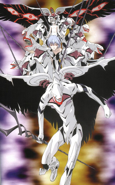 Yoshiyuki Sadamoto, Gainax, Neon Genesis Evangelion, Die Sterne, Kaworu Nagisa