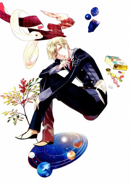 Kazuaki, honeybee, Starry Sky, Shiki Kagurazaka, DVD Cover