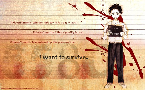 Deadman Wonderland, Ganta Igarashi Wallpaper