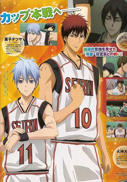 Tadatoshi Fujimaki, Production I.G, Kuroko no Basket, Tetsuya Kuroko, Taiga Kagami