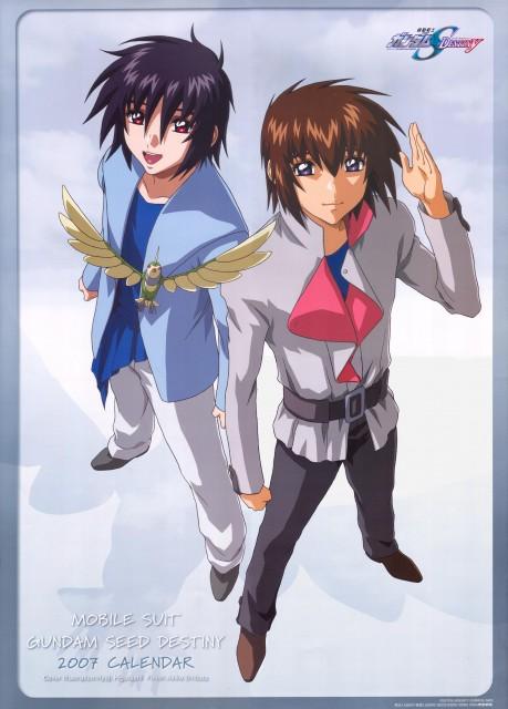 Sunrise (Studio), Mobile Suit Gundam SEED Destiny, Gundam SEED Destiny 2007 Calendar, Shinn Asuka, Torii (Gundam SEED)