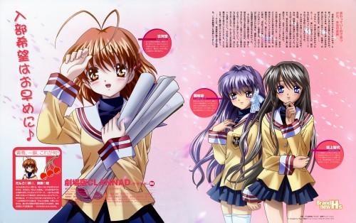 Megumi Kadonosono, Clannad, Tomoyo Sakagami, Nagisa Furukawa, Kyou Fujibayashi