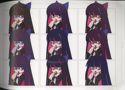 Gainax, Panty and Stocking with Garterbelt, Stocking Anarchy, Character Sheet