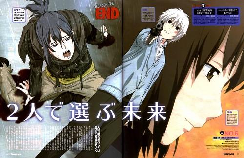 Asano Atsuko, BONES, No. 6, Nezumi, Safu