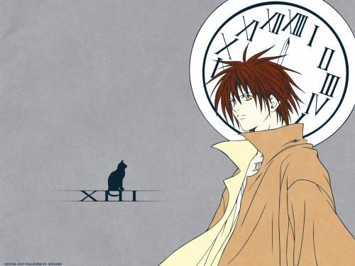 Kentaro Yabuki, Gonzo, Black Cat, Train Heartnet Wallpaper