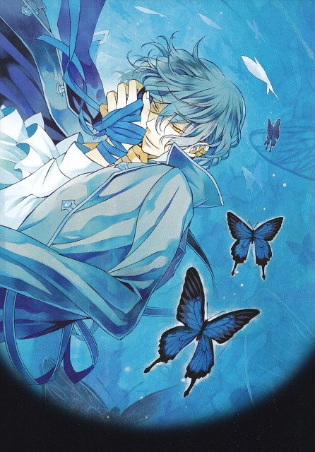 Jun Mochizuki, Pandora Hearts, Gilbert Nightray