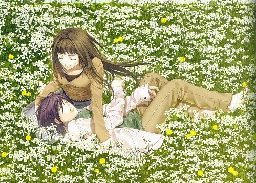 Yone Kazuki, Studio DEEN, Idea Factory, Hiiro no Kakera Completely Preservation Usage Official Artbook, Hiiro no Kakera