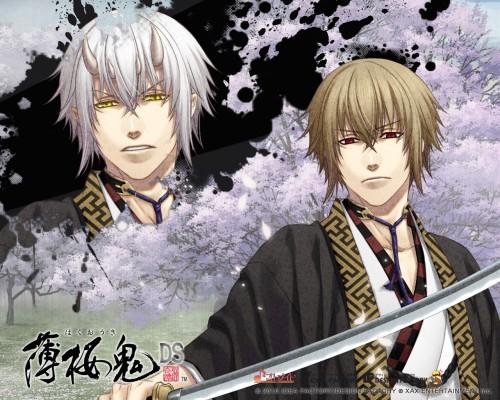 Yone Kazuki, Idea Factory, Hakuouki Shinsengumi Kitan, Chikage Kazama, Official Wallpaper