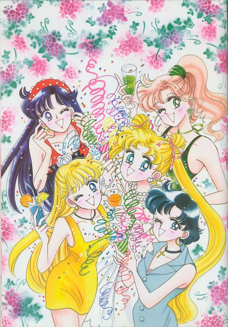 Naoko Takeuchi, Bishoujo Senshi Sailor Moon, BSSM Original Picture Collection Vol. II, Ami Mizuno, Minako Aino