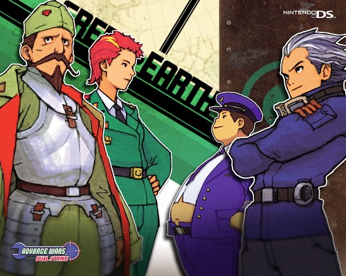 Nintendo, Advance Wars, Eagle (Advance Wars), Javier, Jess (Advance Wars)