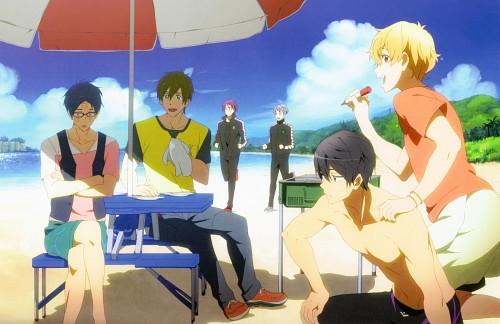 Kyoto Animation, Free!, Free! Illustration WORKS, Rin Matsuoka, Rei Ryuugazaki