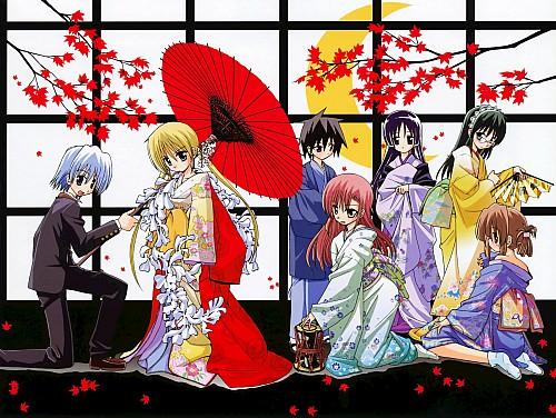 Kenjiro Hata, Hayate the Combat Butler, Wataru Tachibana, Hayate Ayasaki, Maria (Hayate the Combat Butler)