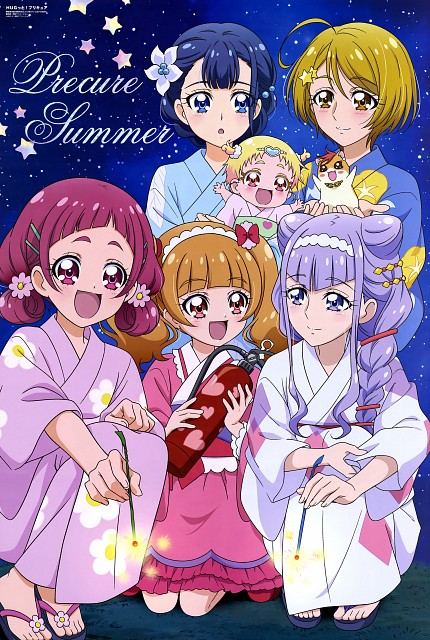 Toei Animation, HUGtto! Precure, Emiru Aisaki, Hana Nono, Hug-tan