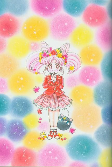 Naoko Takeuchi, Bishoujo Senshi Sailor Moon, BSSM Original Picture Collection Vol. II, Luna-P, Chibi Usa