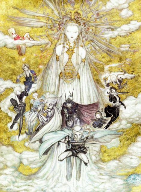 Yoshitaka Amano, Square Enix, Dissidia Final Fantasy, Warrior Of Light, Firion
