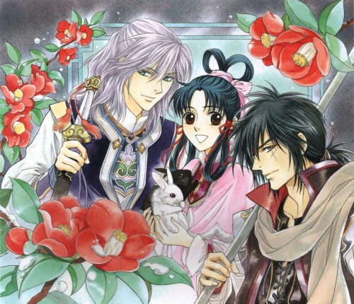 Kairi Yura, Madhouse, Saiunkoku Monogatari, Saiunkoku Monogatari Illustrations, Ensei Rou