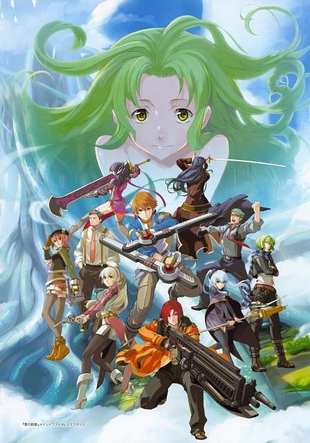 Falcom, Konjiki no Gash Bell, The Legend of Heroes Illustration Artbook, The Legend of Heroes: Ao no Kiseki, The Legend of Heroes: Zero no Kiseki