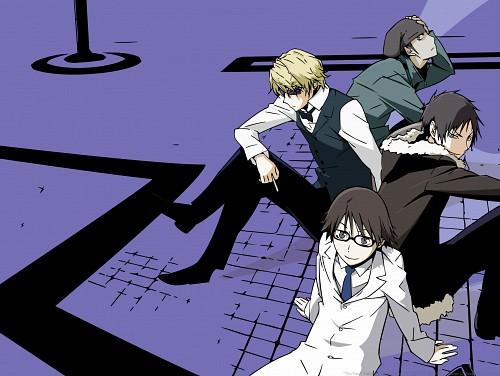 Suzuhito Yasuda, Brains Base, DURARARA!!, Kyohei Kadota, Izaya Orihara
