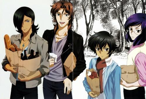 Tetsuya Matsukawa, Sunrise (Studio), Mobile Suit Gundam 00, Lockon Stratos, Allelujah Haptism