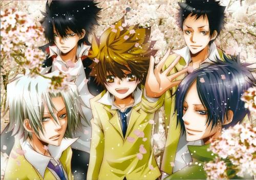 Ringo Momo, Katekyo Hitman Reborn!, Mukuro Rokudo, Tsunayoshi Sawada, Hayato Gokudera