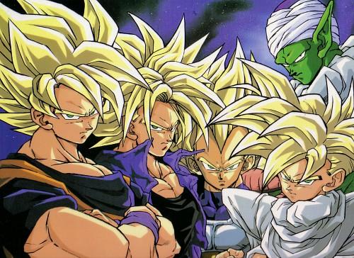 Akira Toriyama, Toei Animation, Dragon Ball, Super Saiyan Goku, Super Saiyan Trunks