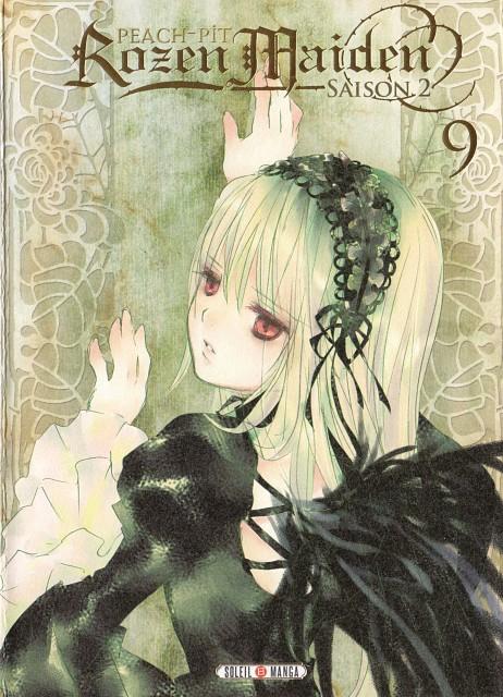 Peach-Pit, Studio Nomad, Rozen Maiden, Suigintou, Manga Cover