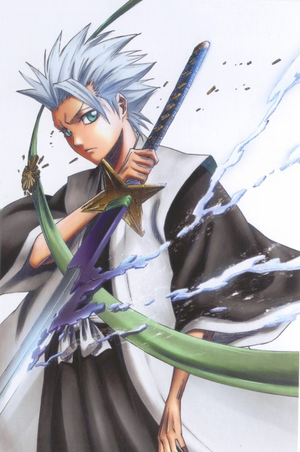 Studio Pierrot, Bleach, Toshiro Hitsugaya, DVD Cover